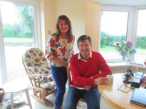 Me and Celebrity Singer Daniel O'Donnell