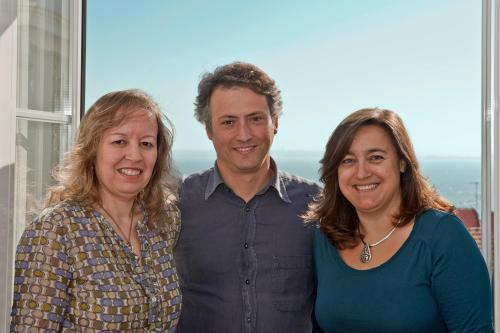 Fatima, Eduardo and Paula