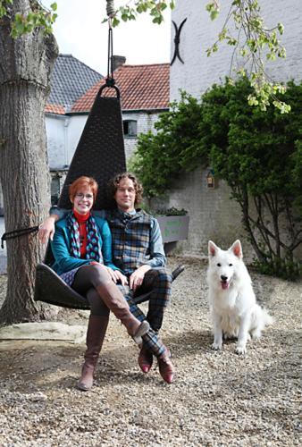 Geert & Iris met hond Snow