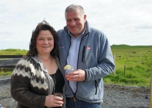 Thorey and Arni, owners