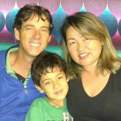 Neusa , Clovis e Gustavo