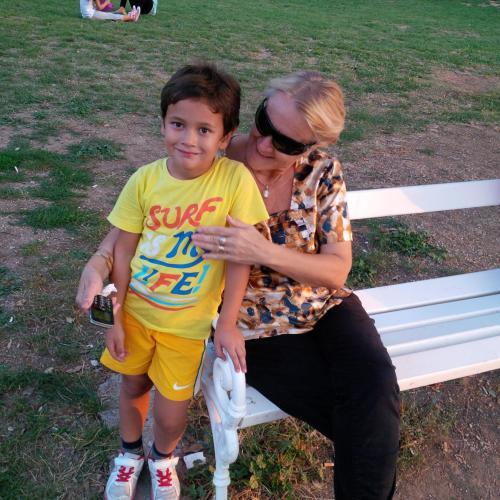 Blaženka i unuk Antonio