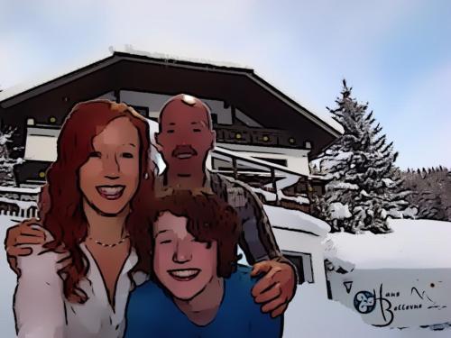 Amanda, Gary and Kito Hewitt