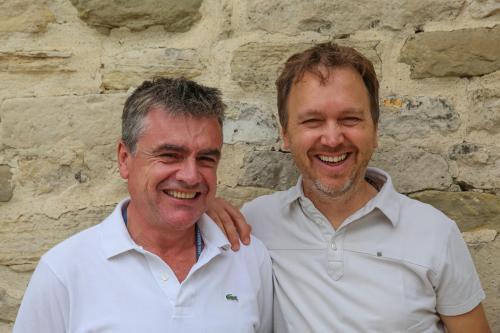Hervé et François