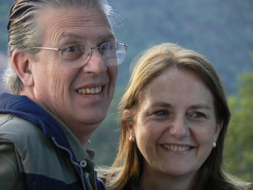 Susana y Juan Carlos, dueños.