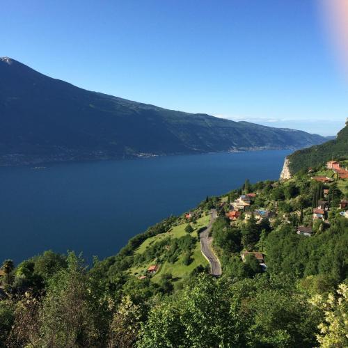 Visto lago dal balcone