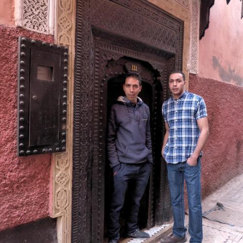 Abderrazzak y Basou