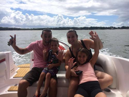 Fernando e família