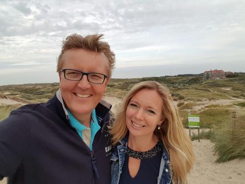 Pieter Bas en Wendy Antoons