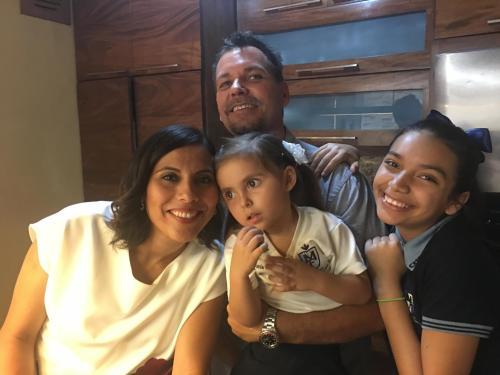 Derek Sonsie and family