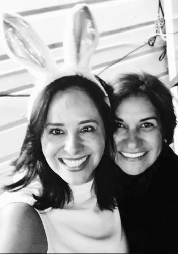 Adriana and Cleide