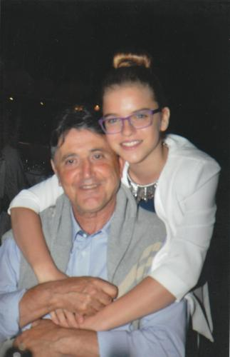 Owner of the property (Alex) and his daughter (Anna).