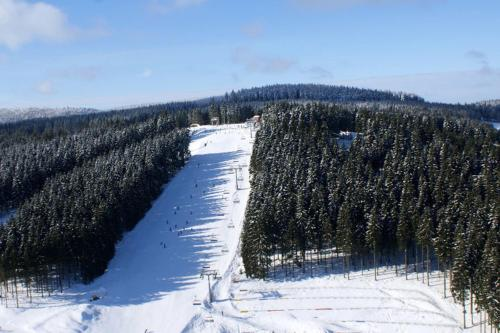 Een afdaling in Winterberg