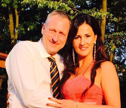 Valentyna und Steffen Kreil