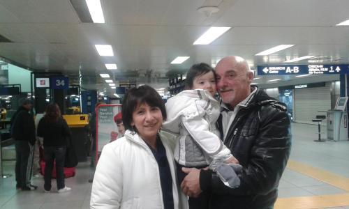 Sergio Lourdes e Vittoria