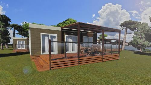 Naturist FKK Mobile Home Camping Solaris