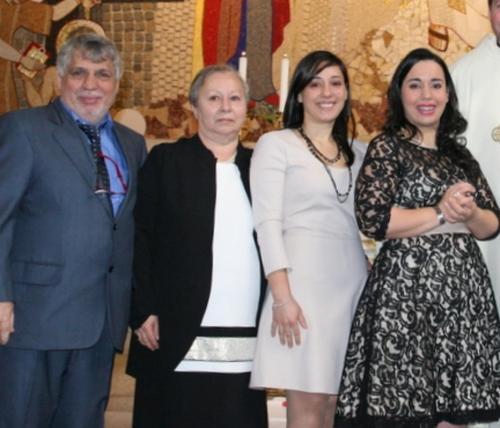 la nostra famiglia:Cosmo,Lina,Mariangela e Damiana