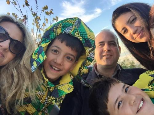 Nikos, Nitsa & family