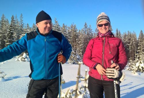 Taina ja Juha Mäkelä