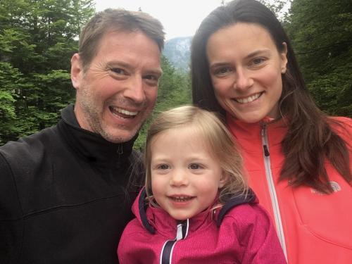 Brian, Iveta & Vivienne Fleming