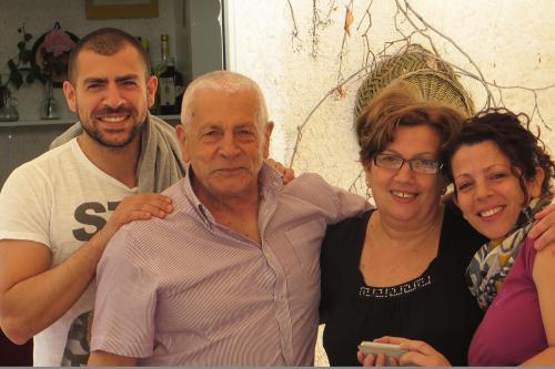 Francesco, Peppe, Rosa e Ketty Montalto