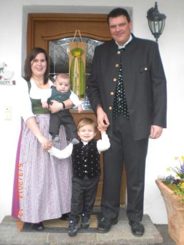 Florian & Barbara Nieß mit Sebastian & Stefan