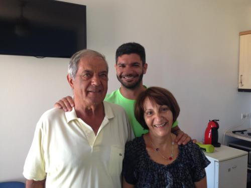 Φλεβοτόμος Δημήτρης και οι γονείς μου Μάκης και Κεράνη