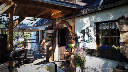 Ferienwohnung Aronia Garten Neukirchner