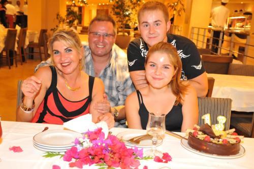 Daniel et sa famille