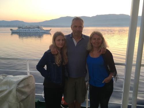 Sylvie, Kateřina and Richard