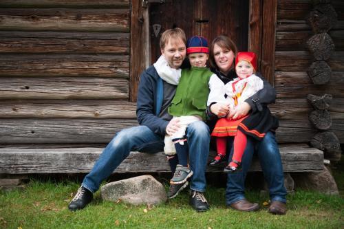 Carsten, Jasper, Regina & Hedda Schiborr