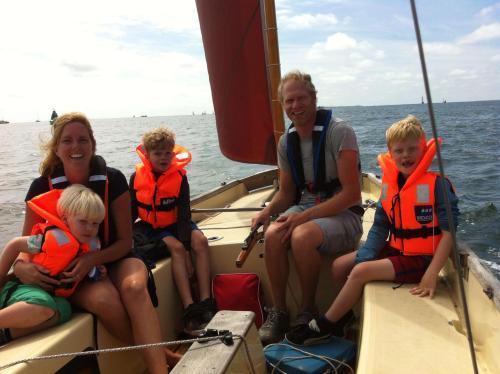 Ruud, Clarinde, Sem, Tijn and Mees.