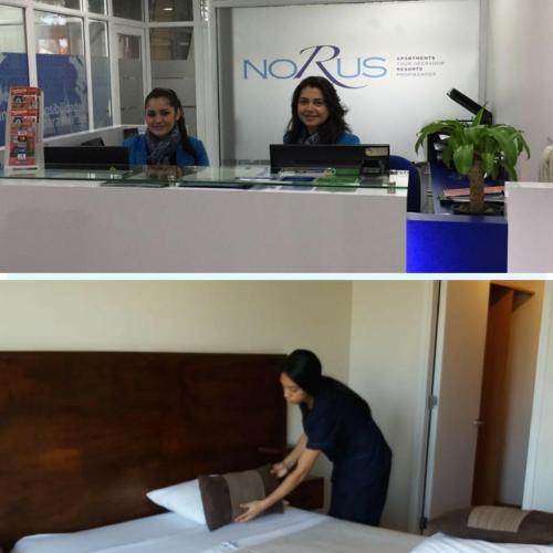 Andrea y Daniela de Norus Apartments