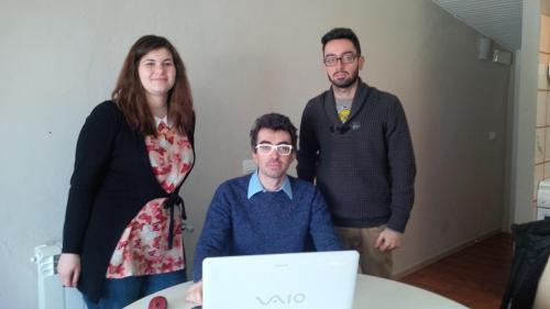 Colette, Sandro and Andrea