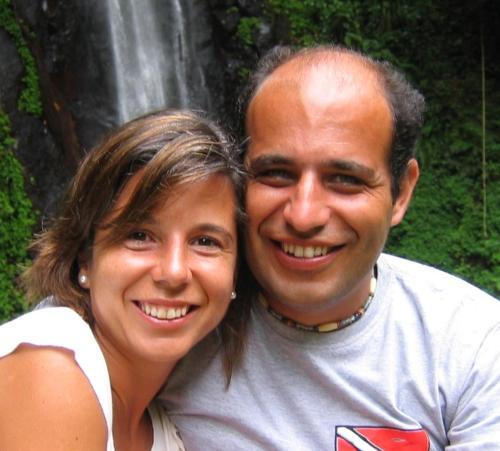 Sandra Barbedo e Arnaldo Couto