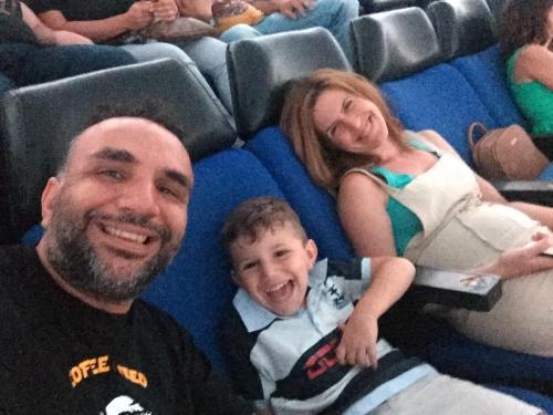 Yorgos, Anthi and Antonis