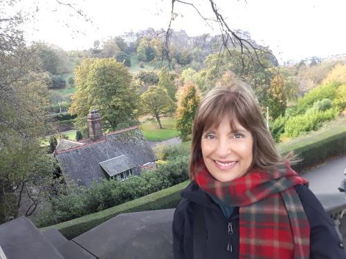 Silvana en Edimburgo 2018