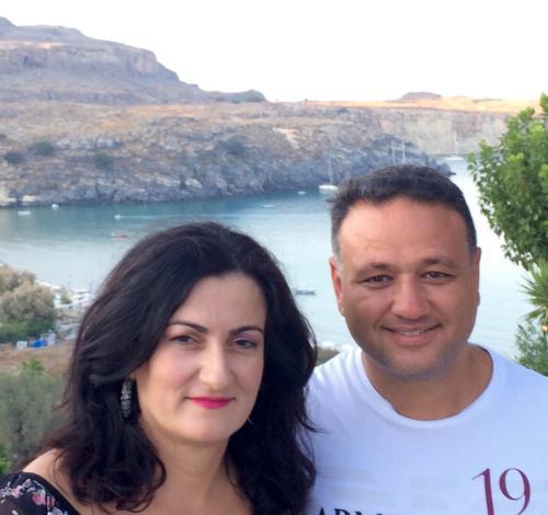 Filippos & my wife