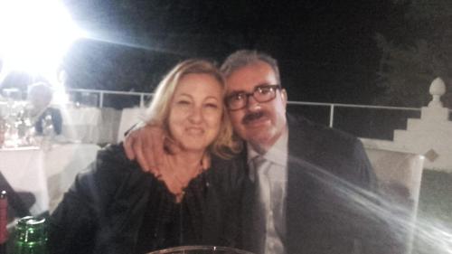 Angelo e Esmeralda titolari della struttura