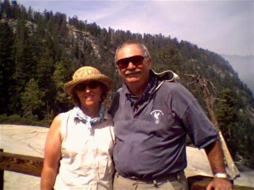 Joe Riley and Lynda Eaton