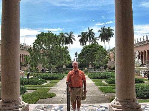 Henry at the Ringling Museum, Sarasota, FL