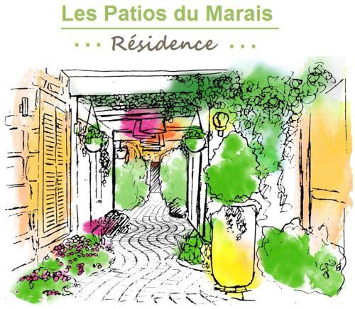 Les Patios du Marais