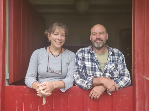 Lisa and Mick