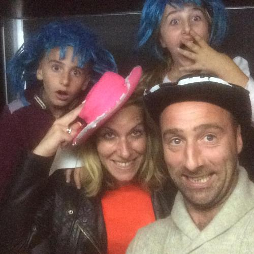 Martin, Lucy, Izabell, Harvey