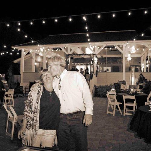 Karen Kelly, owner, and hubby- Frank