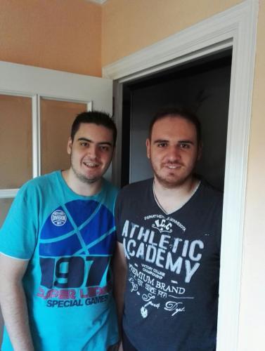 Javier y Lorenzo