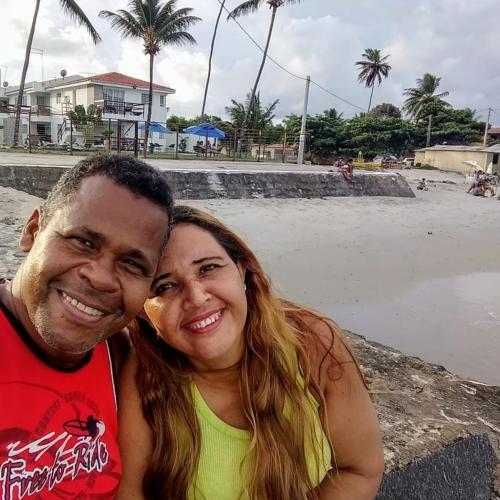 José Fernando e esposa Adriana