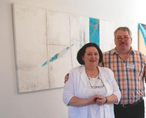 Annemie Timmers en Ton Poelma
