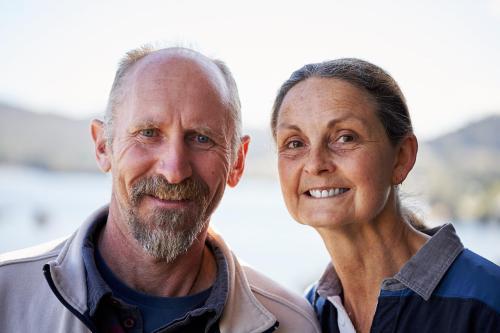 David and Sylvia Dunn