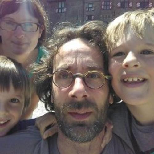 Mireille, Willem and our 2 children